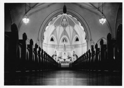 St. Patrick;s Church - Interior Center Aisle 2001