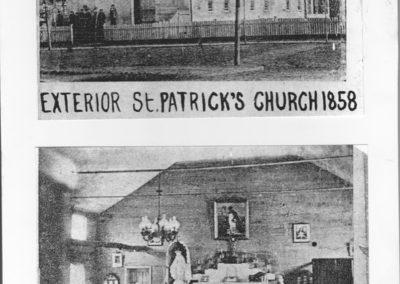 St. Patrick's Church in 1858