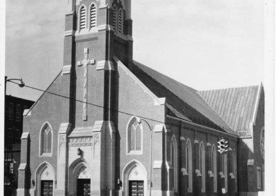 St. Patrick's Exterior 1964