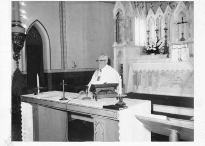 Saint Patrick's School Monsignor Delaney 1968