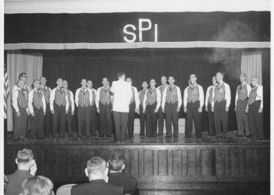 St. Patrick's School Barbershop Quartet On SPI Stage