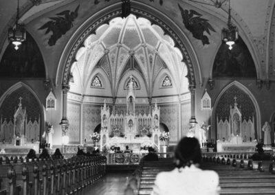 St. Patrick -  Interior - 1950